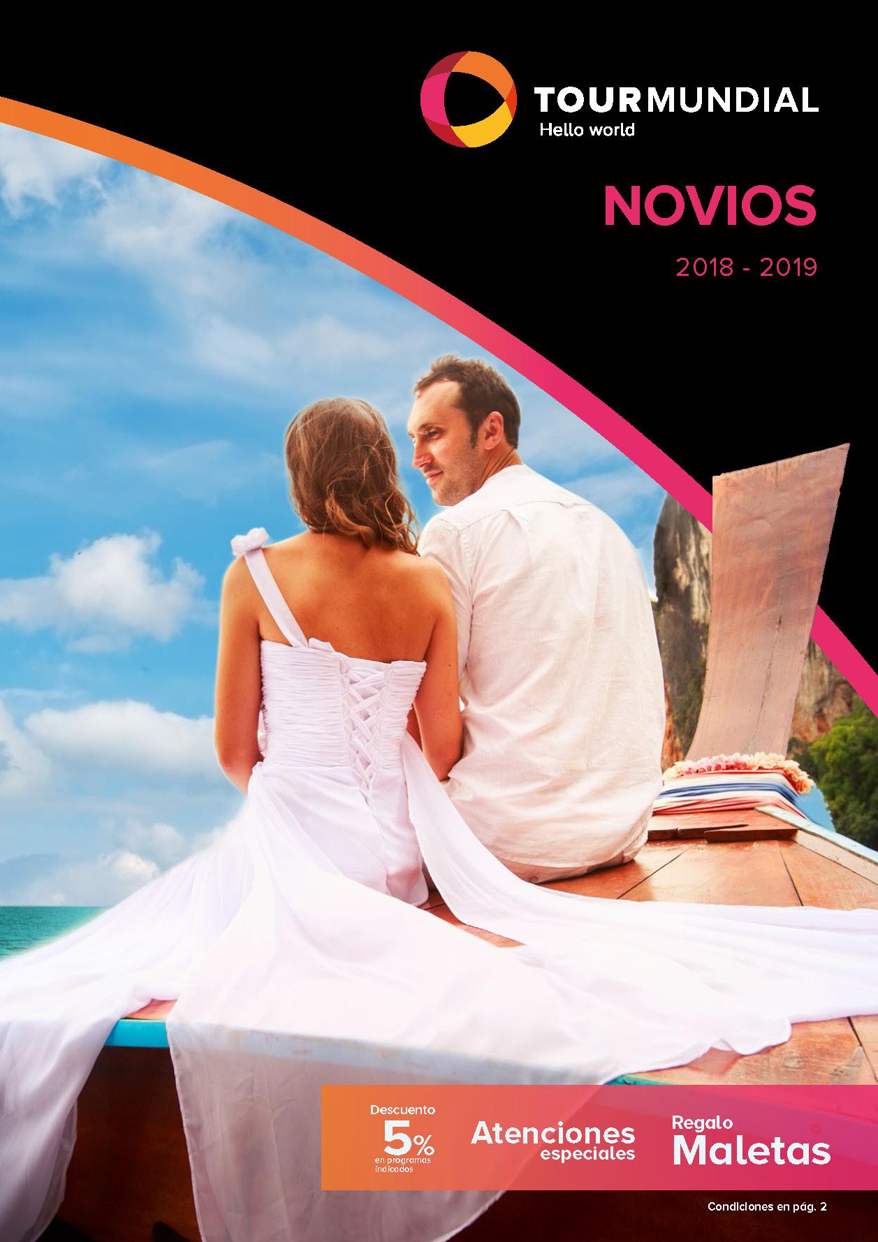 Catálogo Tourmundial Novios 2018-2019