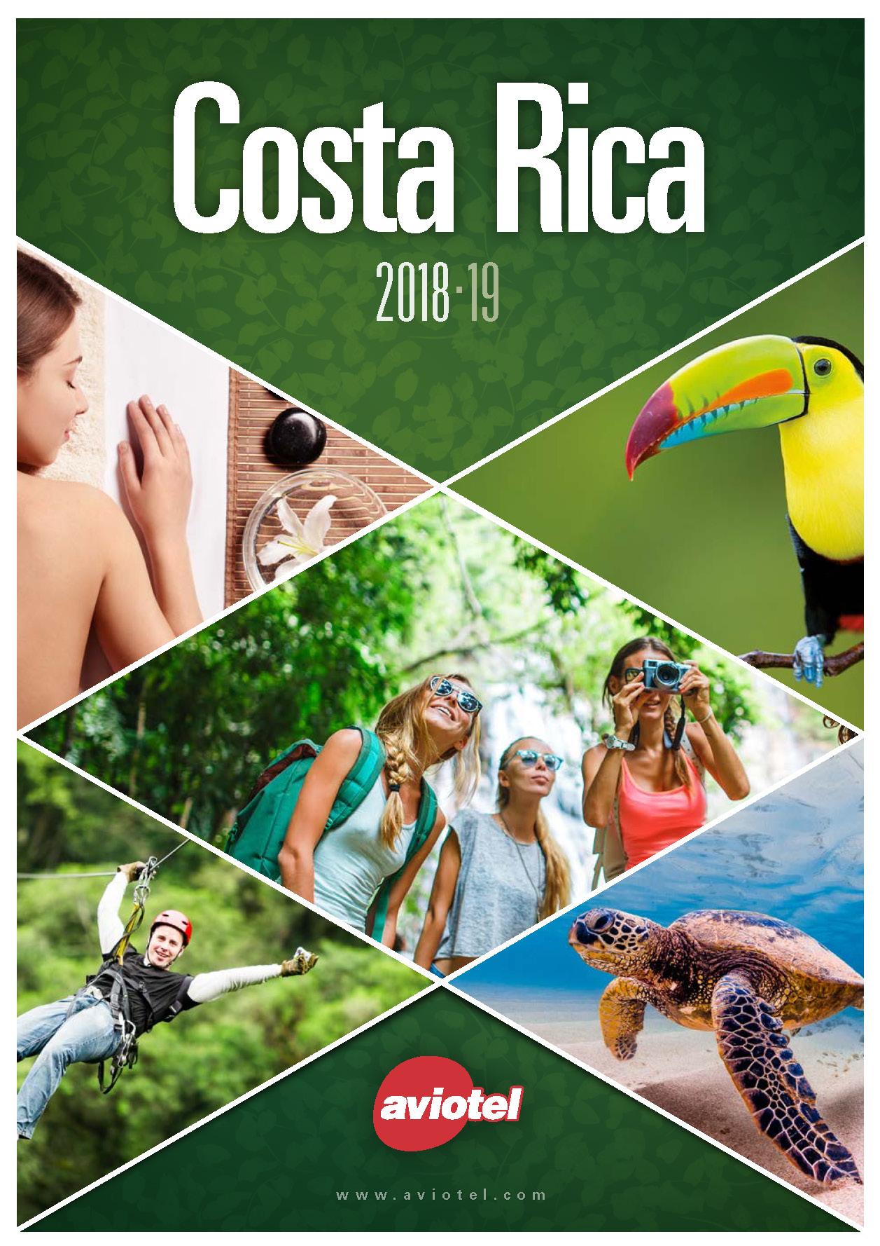 Catalogo Aviotel Costa Rica 2018-2019