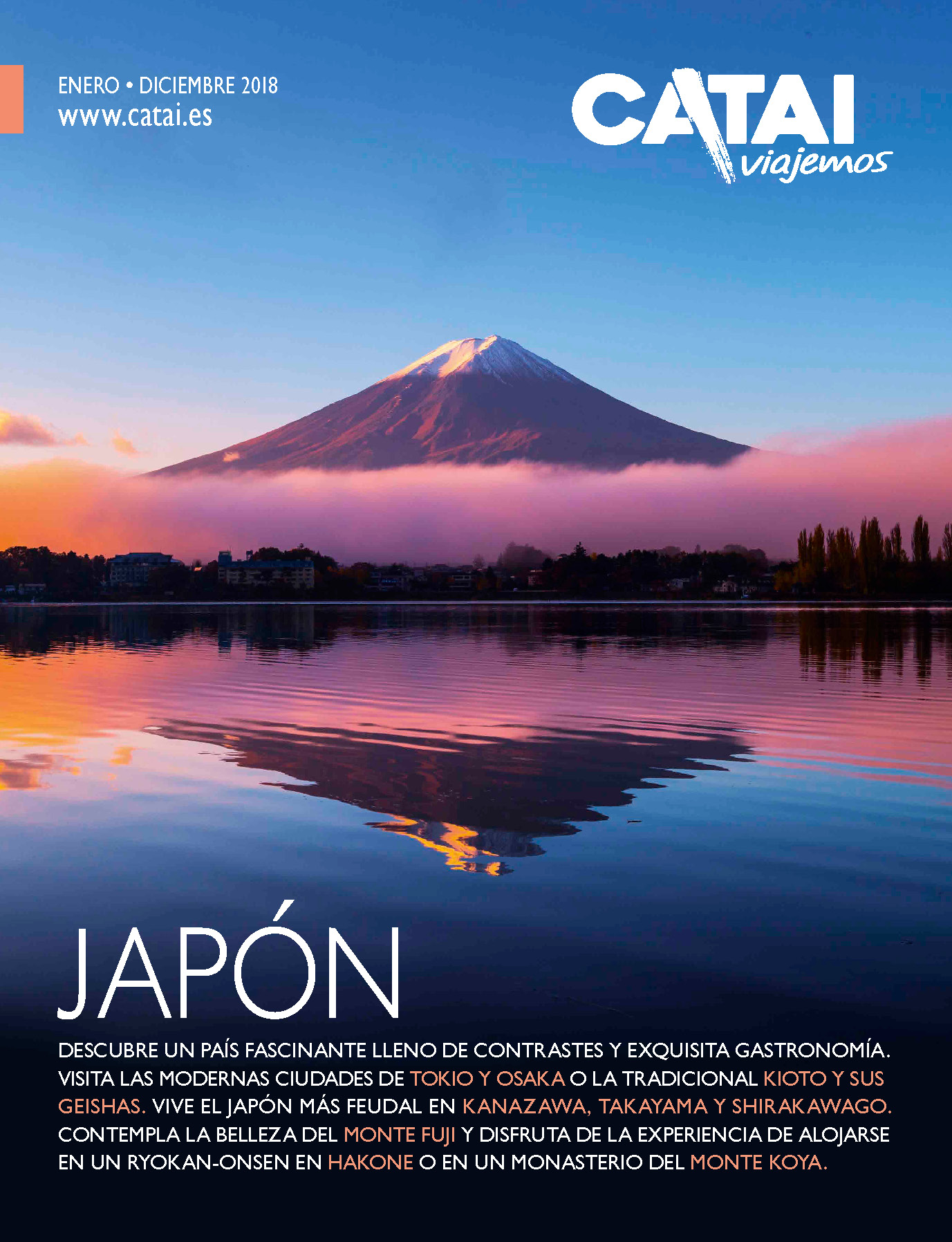 Catalogo Catai Tours Japon 2018