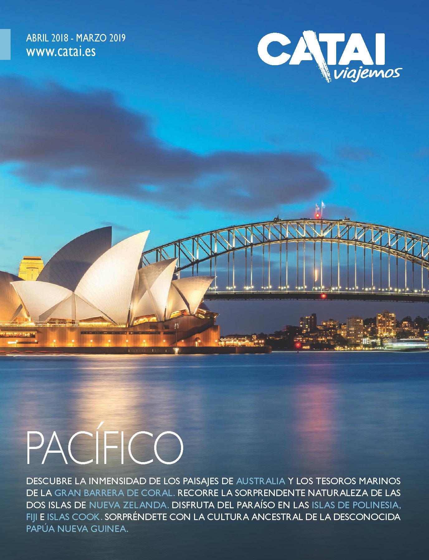 Catalogo Catai Tours Pacifico 2018-2019