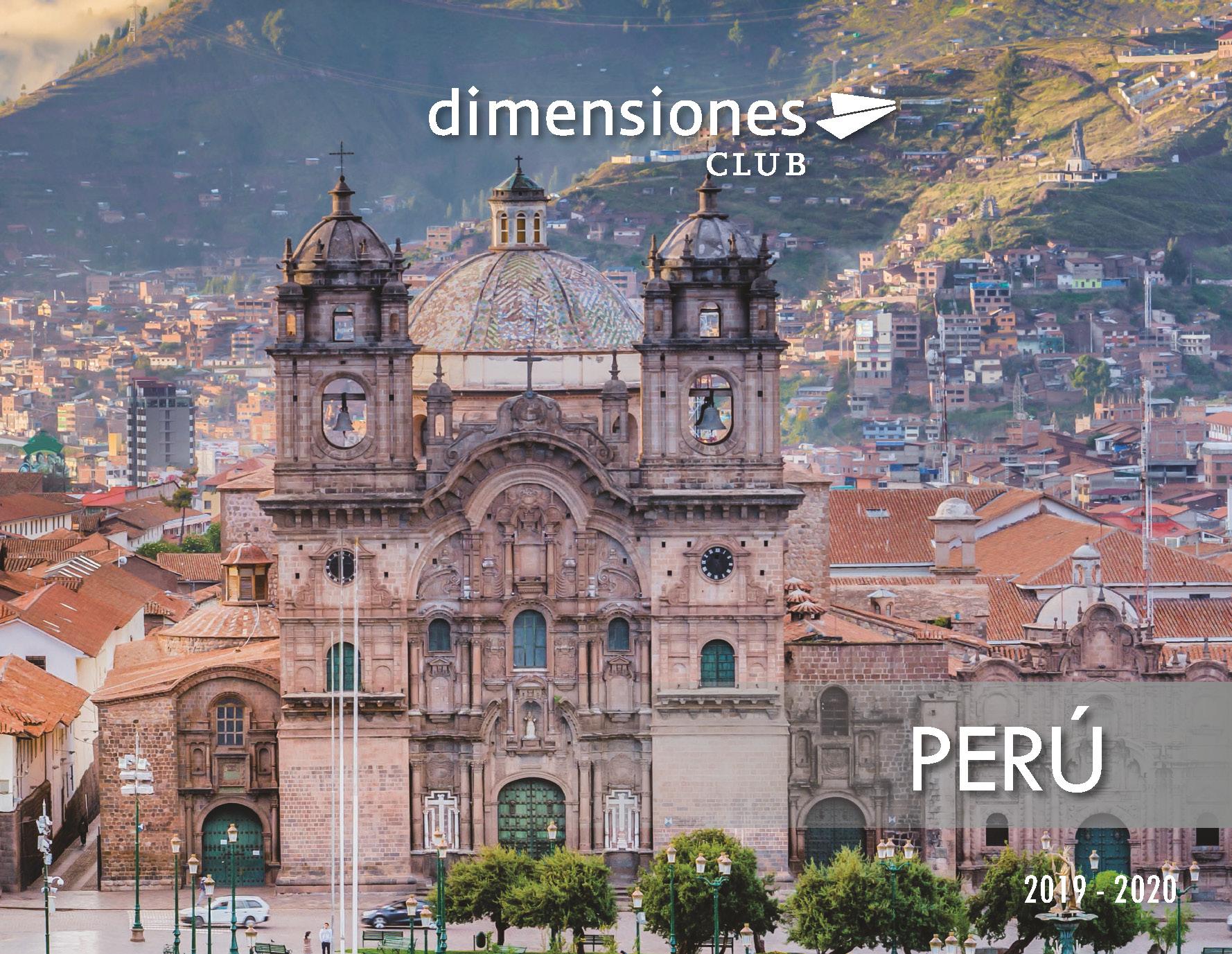 Catalogo Dimensiones Club Peru 2019