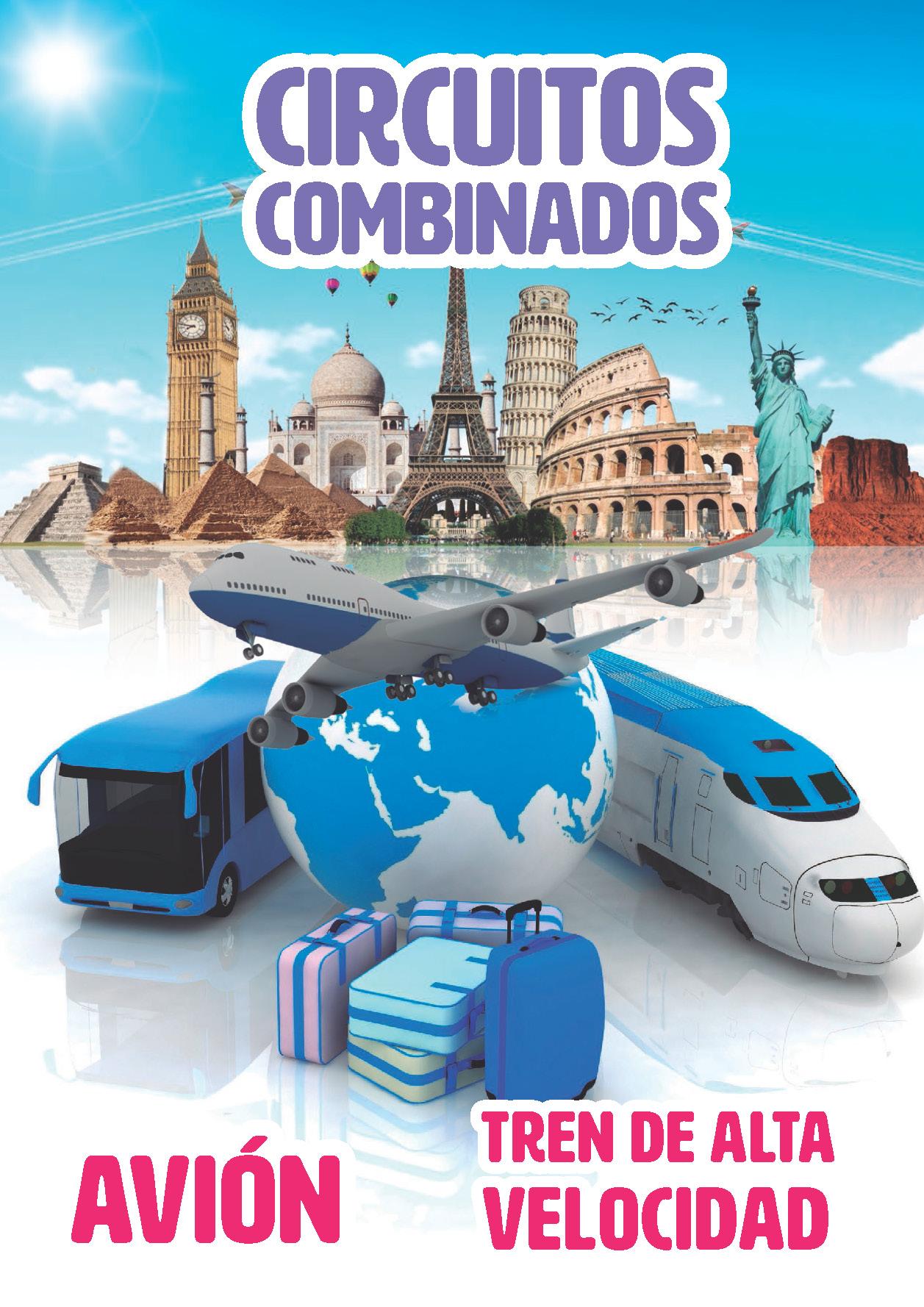 Catalogo Europamundo Vacaciones Circuitos Combinados 2018-2019