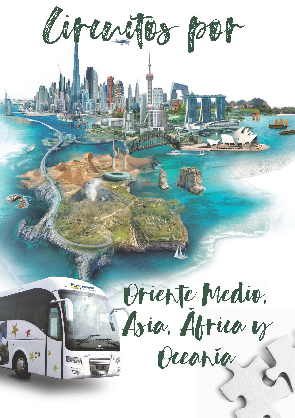 Catalogo Europamundo Vacaciones Oriente Medio Asia Africa Oceania 2018-2019