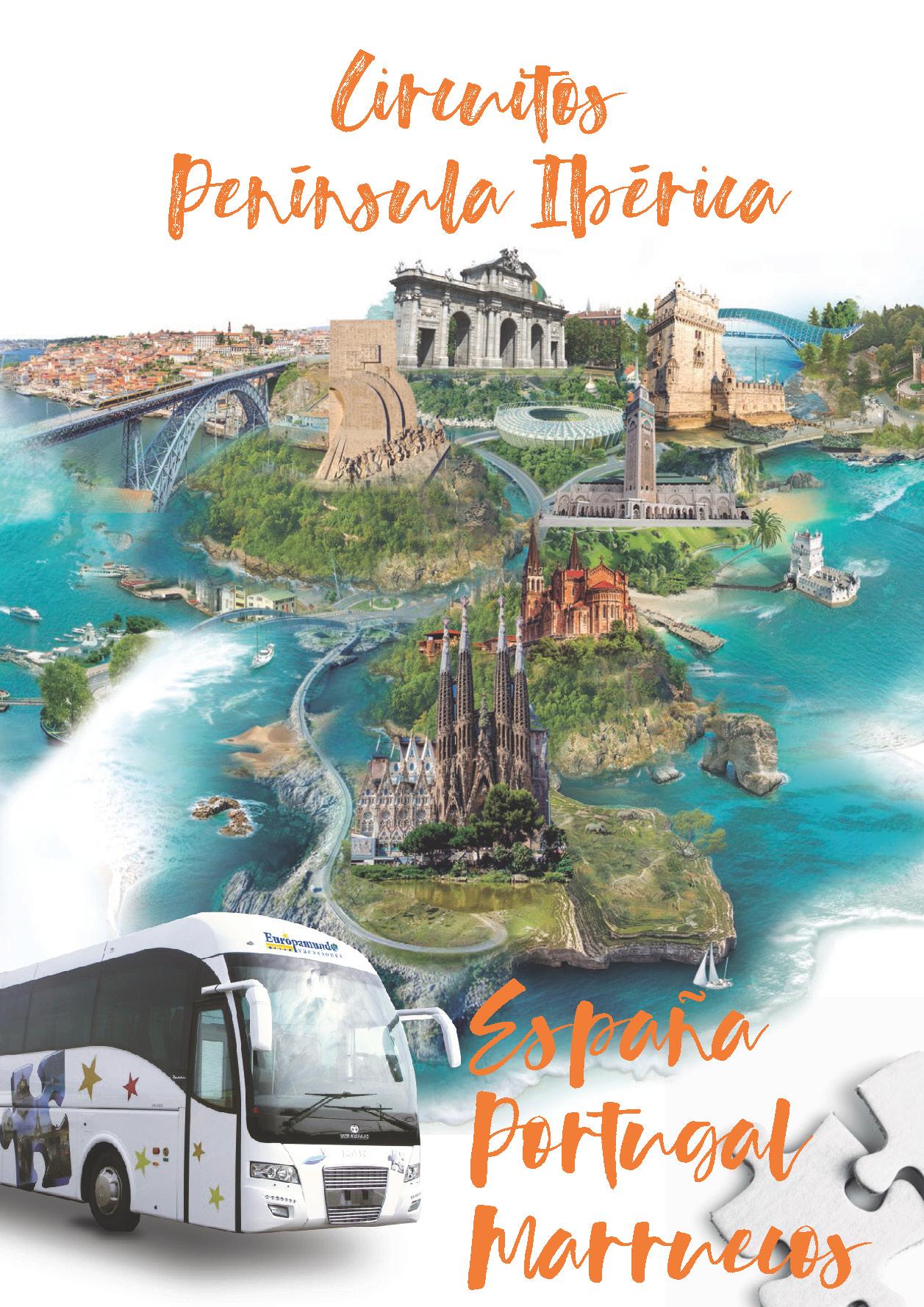Catalogo Europamundo Vacaciones Peninsula y Marruecos 2018-2019