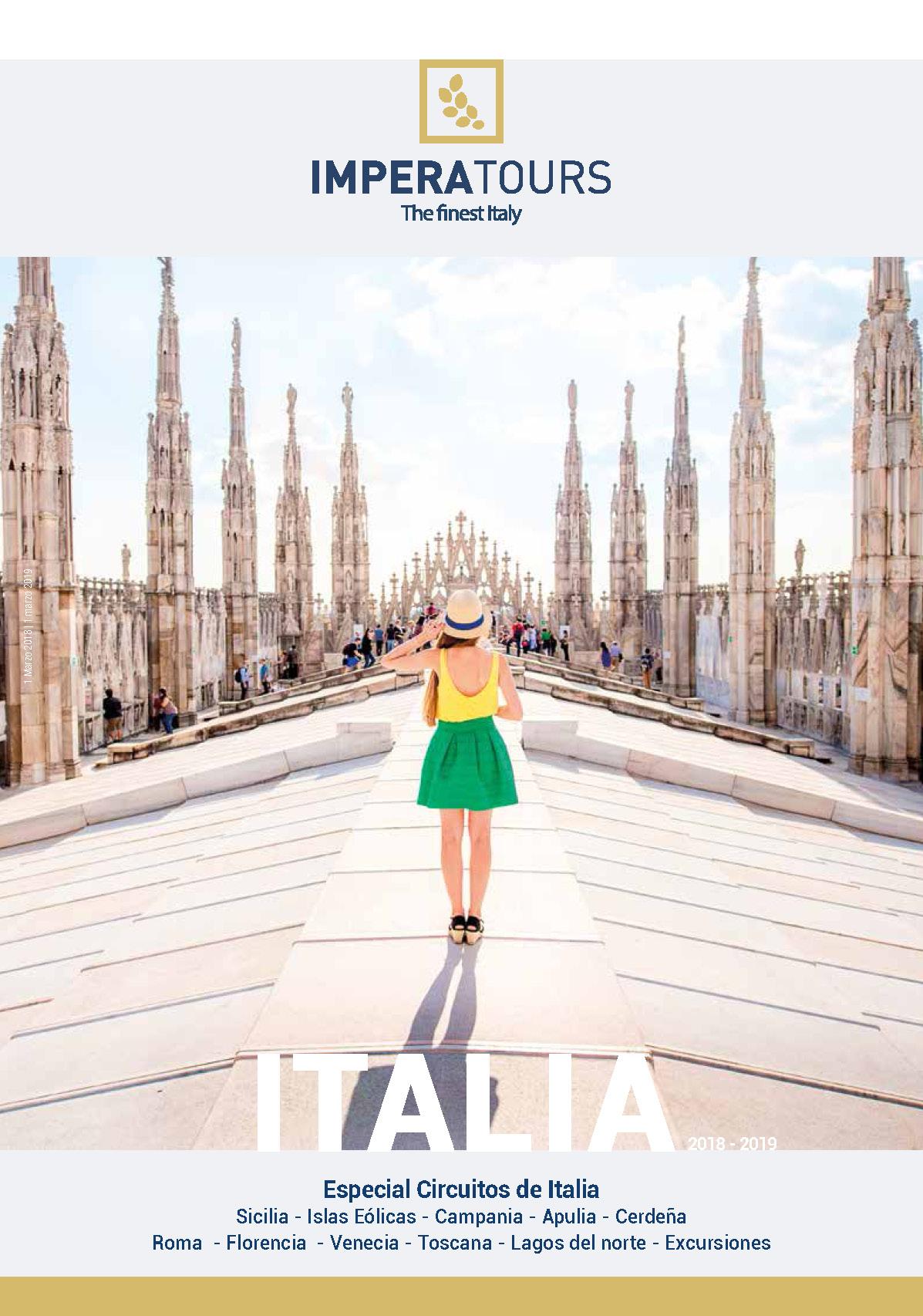 Catalogo Imperatours Italia 2018-2019