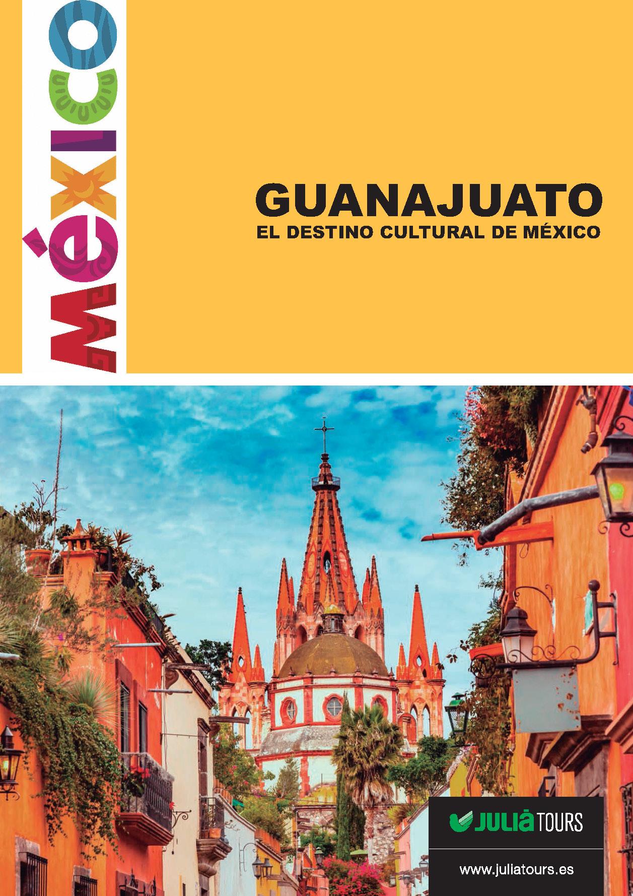 Catalogo Julia Tours Especial Guanajuato 2018