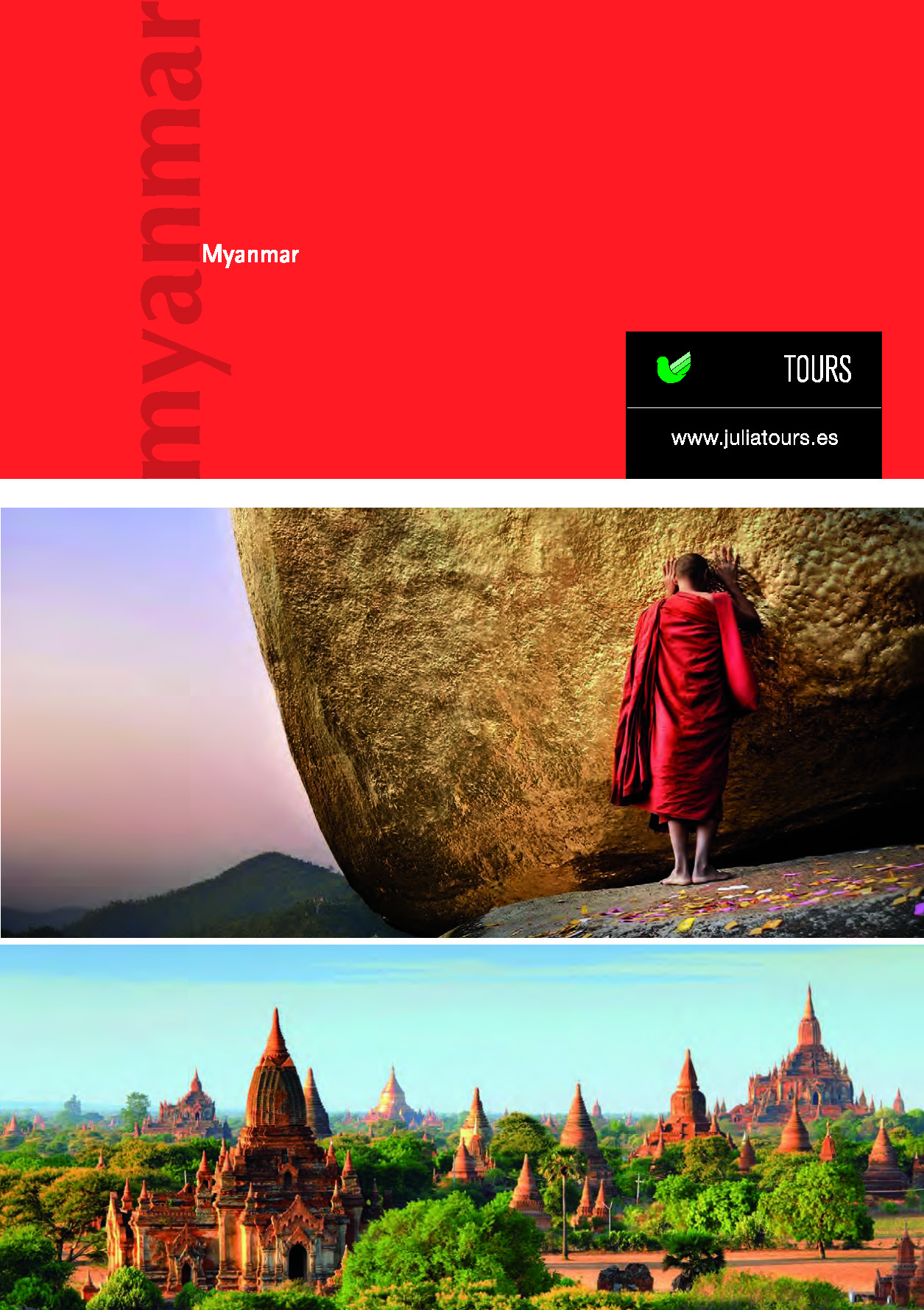 Catalogo Julia Tours MYANMAR 2017-2018