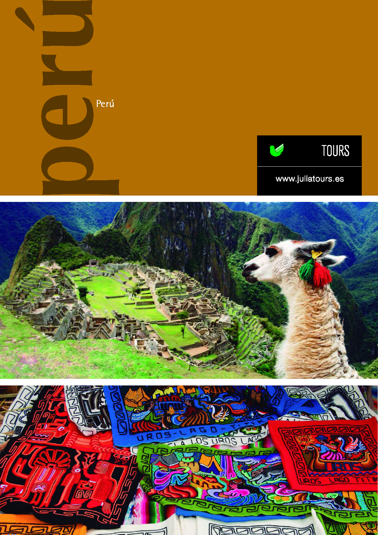 Catalogo Julia Tours PERU 2017-2018