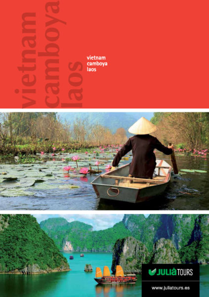 Catalogo Julia Tours Vietnam Camboya y Laos 2016-2017