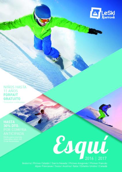 Catalogo LeSki Esqui 2016-2017 Viajes de ski y nieve