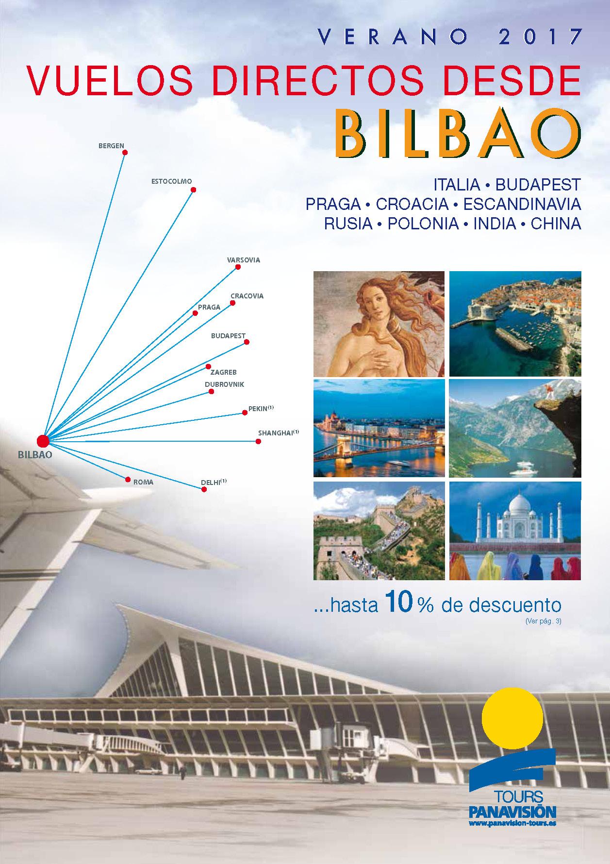 Catalogo Panavision Tours Circuitos Vuelo Directo Bilbao 2017