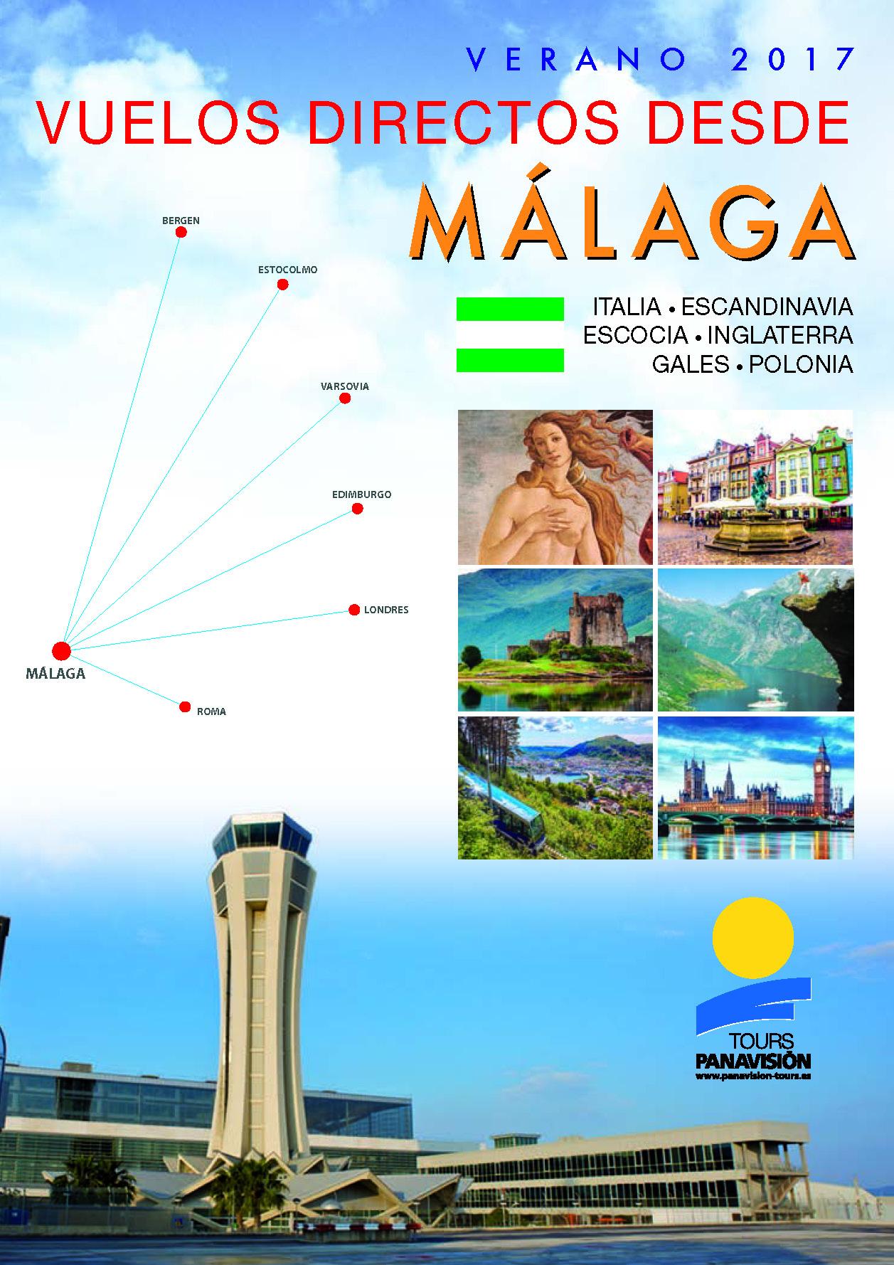 Catalogo Panavision Tours Circuitos Vuelo Directo Malaga 2017 AG7