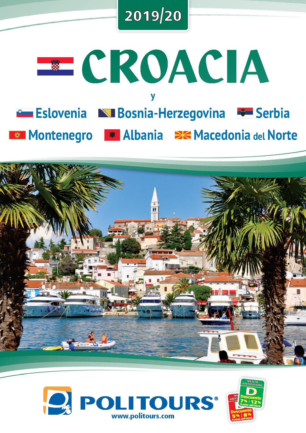 Catalogo Politours Croacia 2019-2020