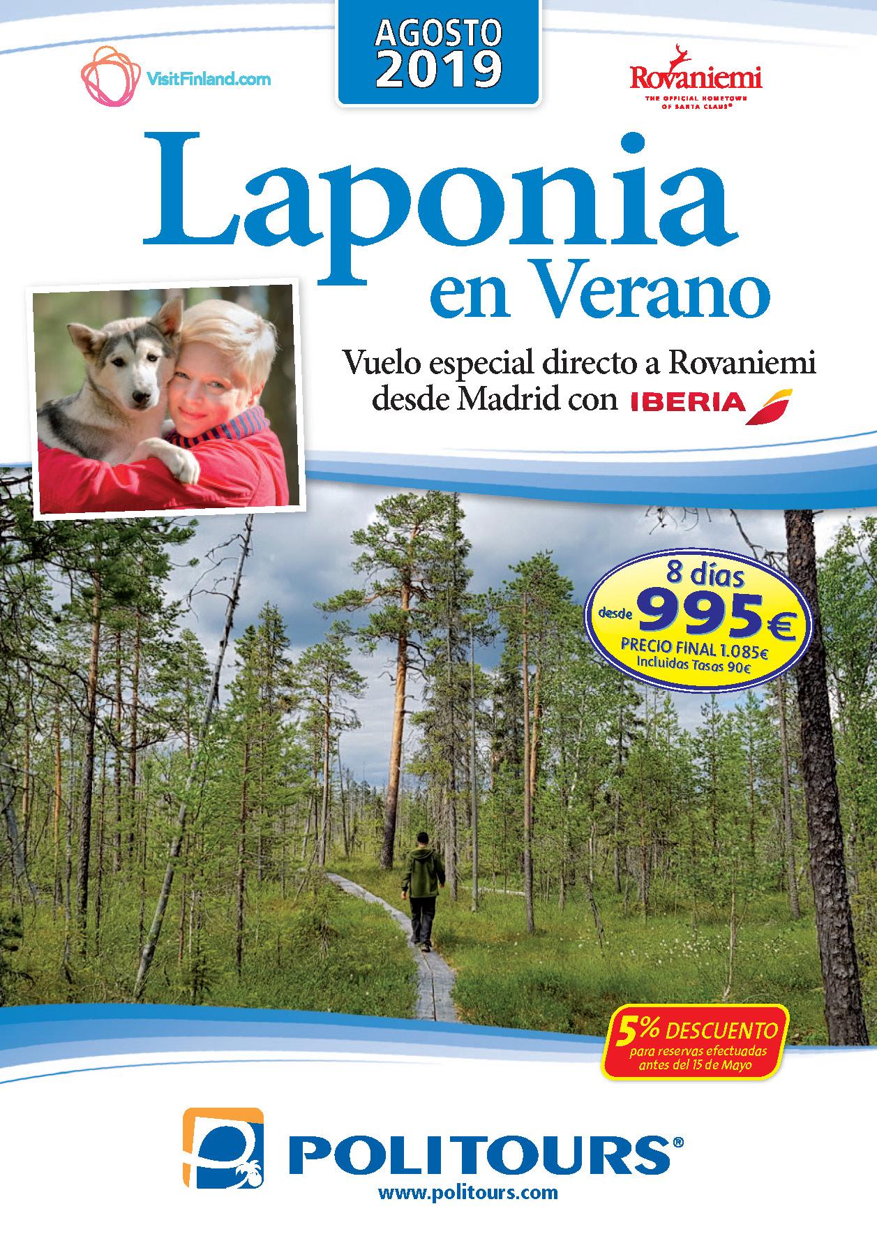 Catalogo Politours Laponia Verano 2019