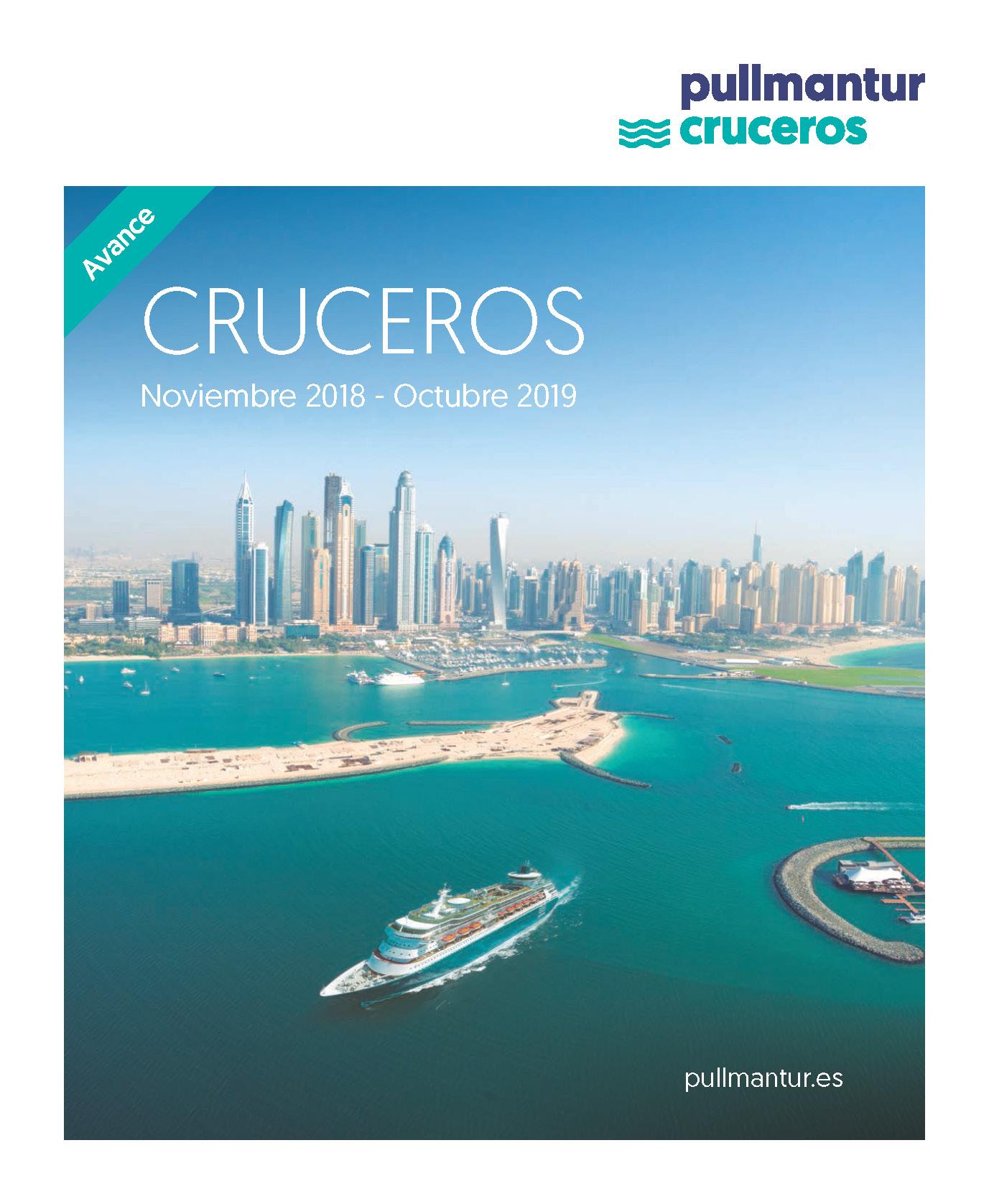 Catalogo Pullmantur Cruceros 2018-2019 Avance