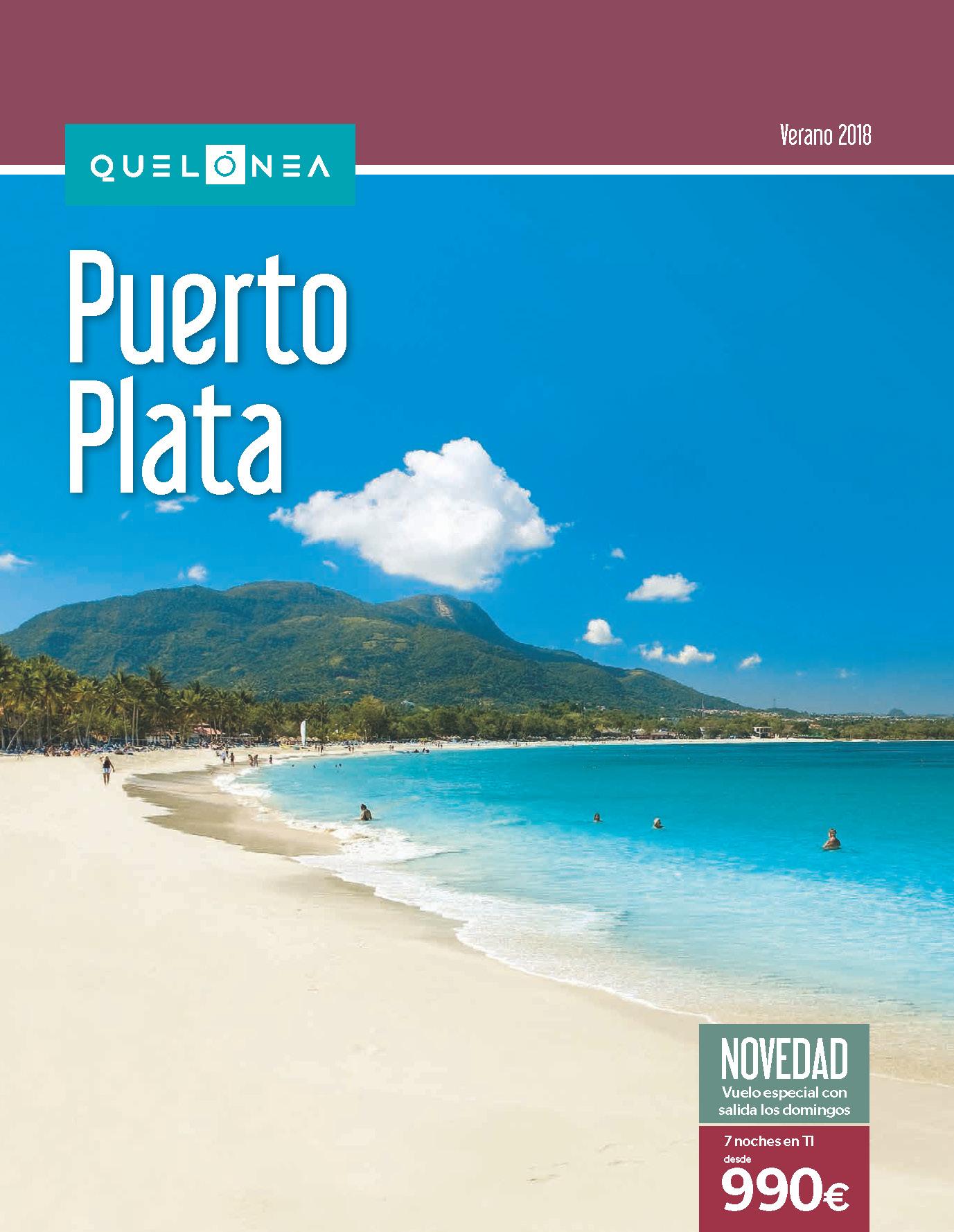 Catalogo Quelonea Puerto Plata verano 2018