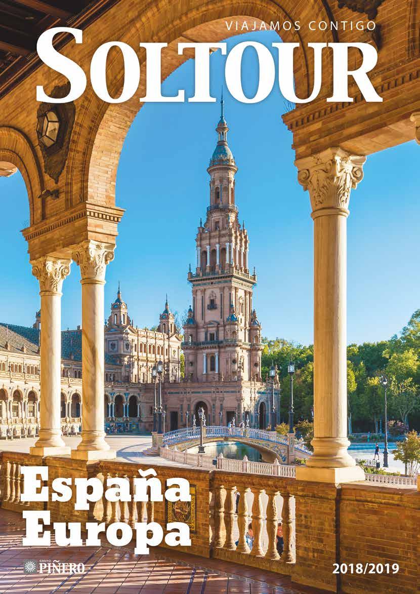 Catalogo Soltour Espana y Europa 2018-2019