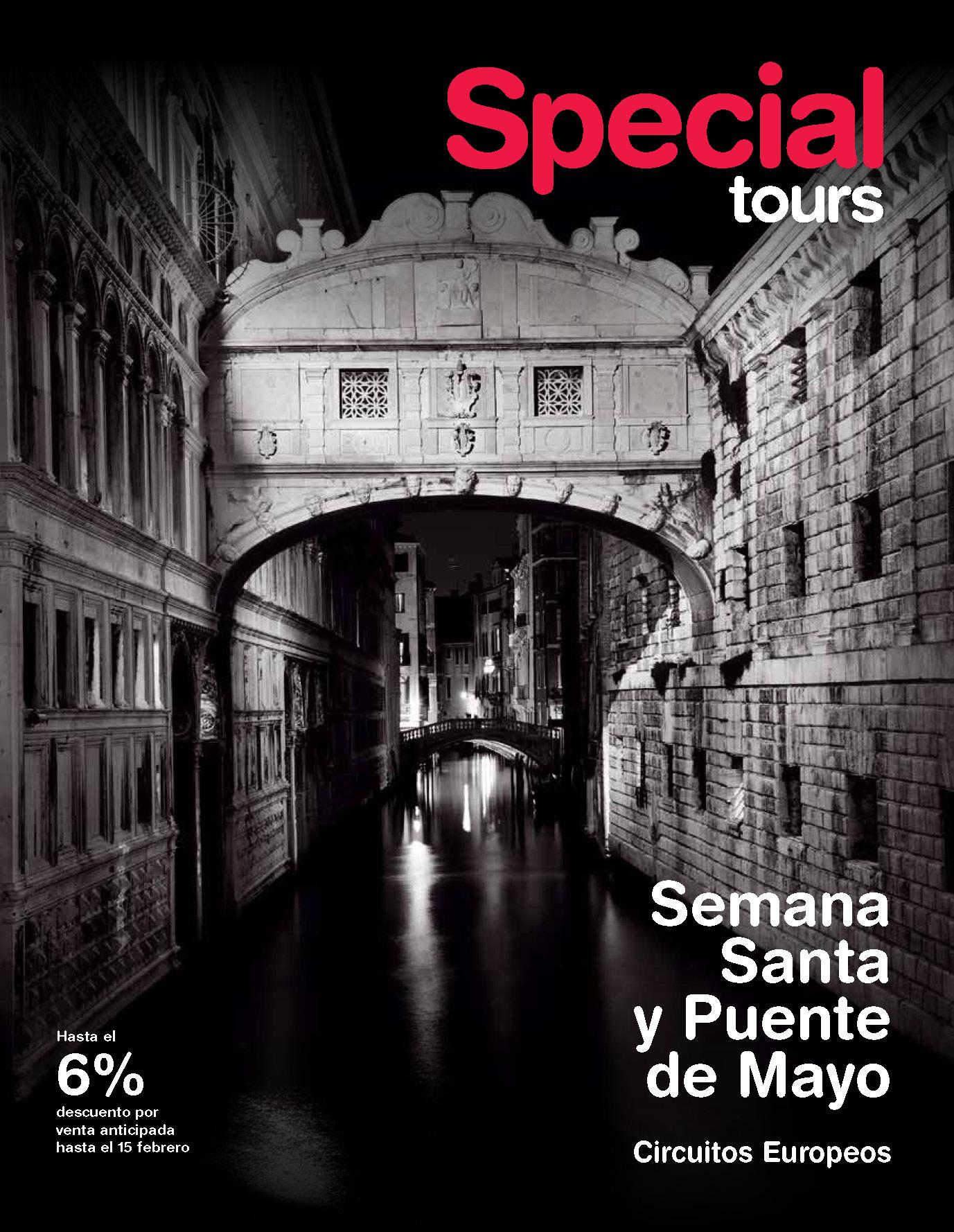 Catalogo Special Tours Semana Santa y Puente de Mayo 2019