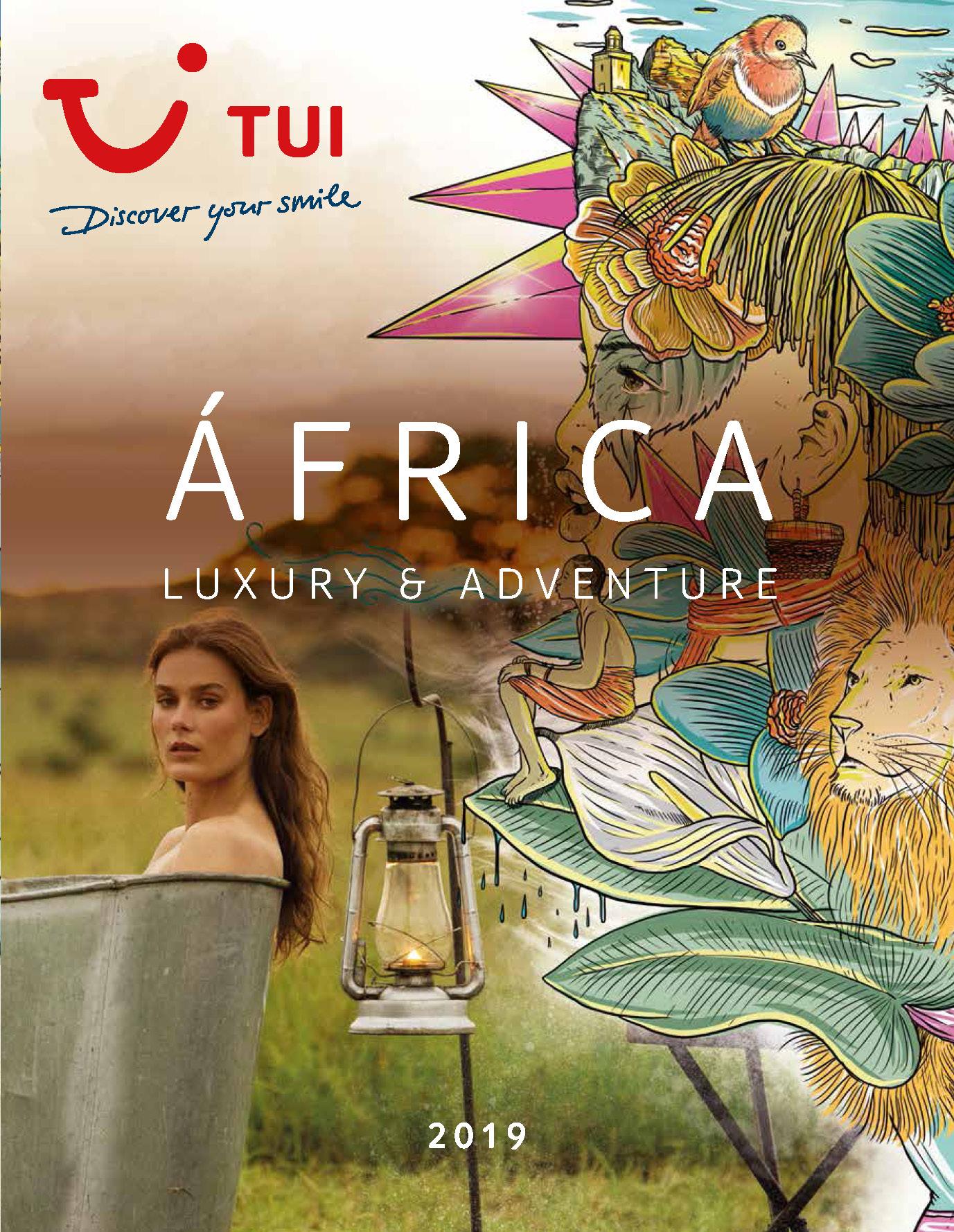 Catalogo TUI Ambassador Tours Africa Lujo y Aventura 2019