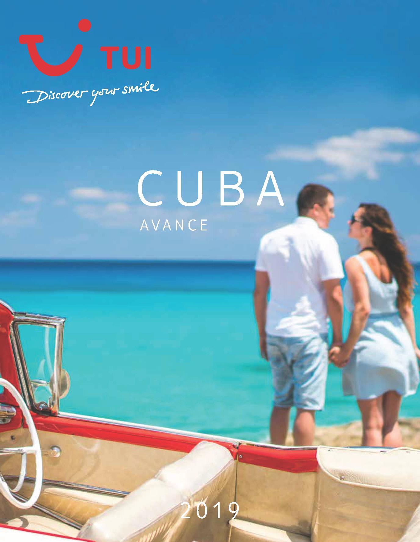 Catalogo TUI Ambassador Tours Avance Cuba 2019