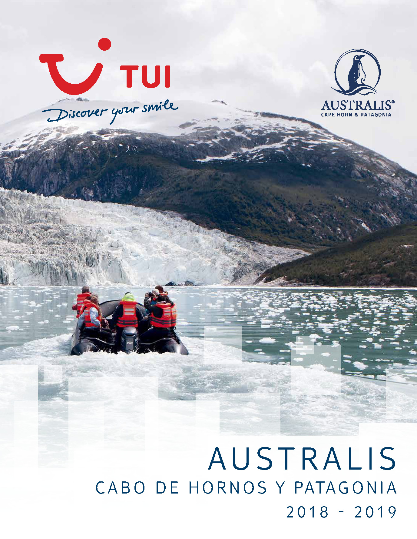 Catalogo TUI Ambassador Tours Cruceros Australis 2018-2019