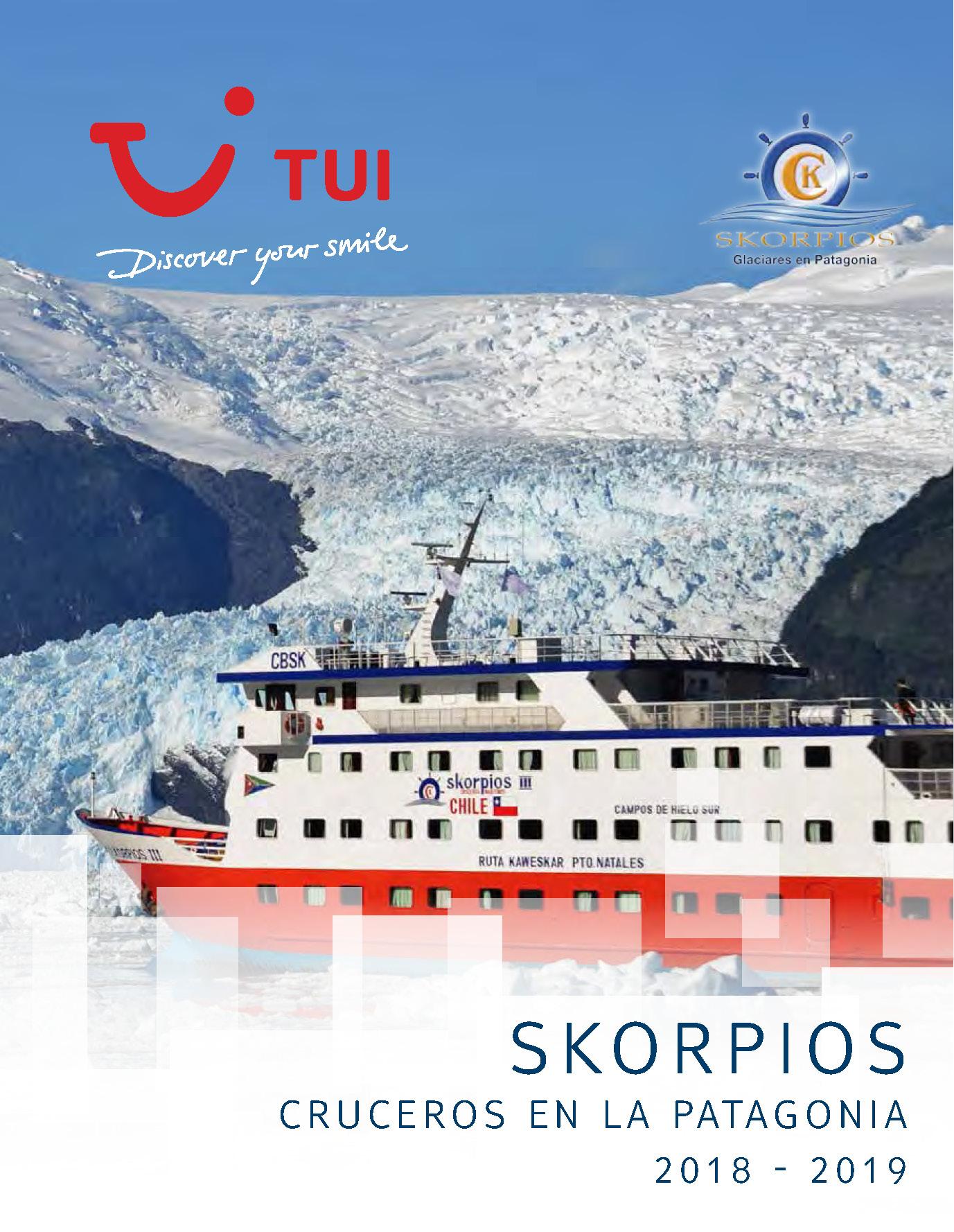 Catalogo TUI Ambassador Tours Cruceros Skorpios 2018-2019