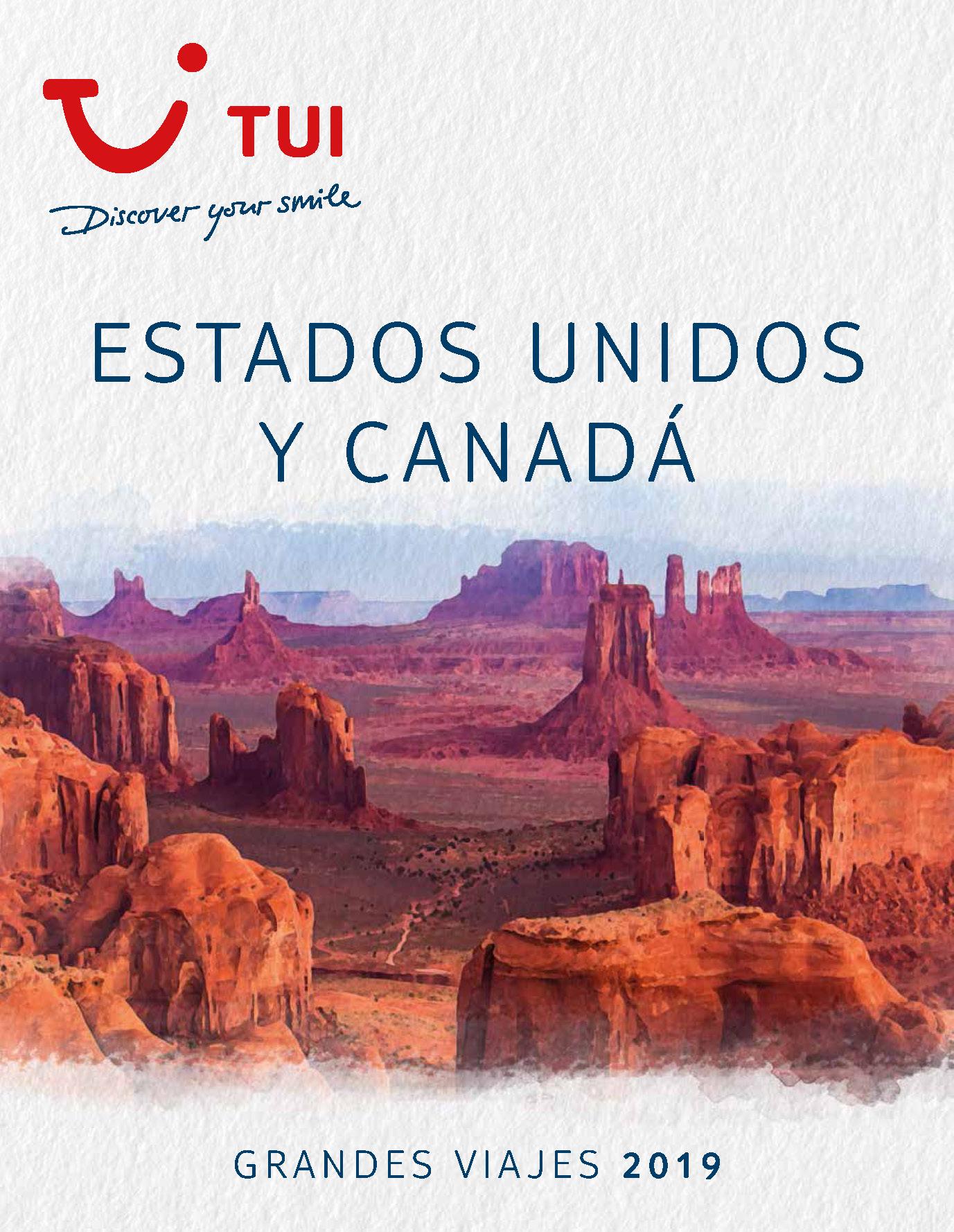 Catalogo TUI Ambassador Tours Estados Unidos y Canada 2019