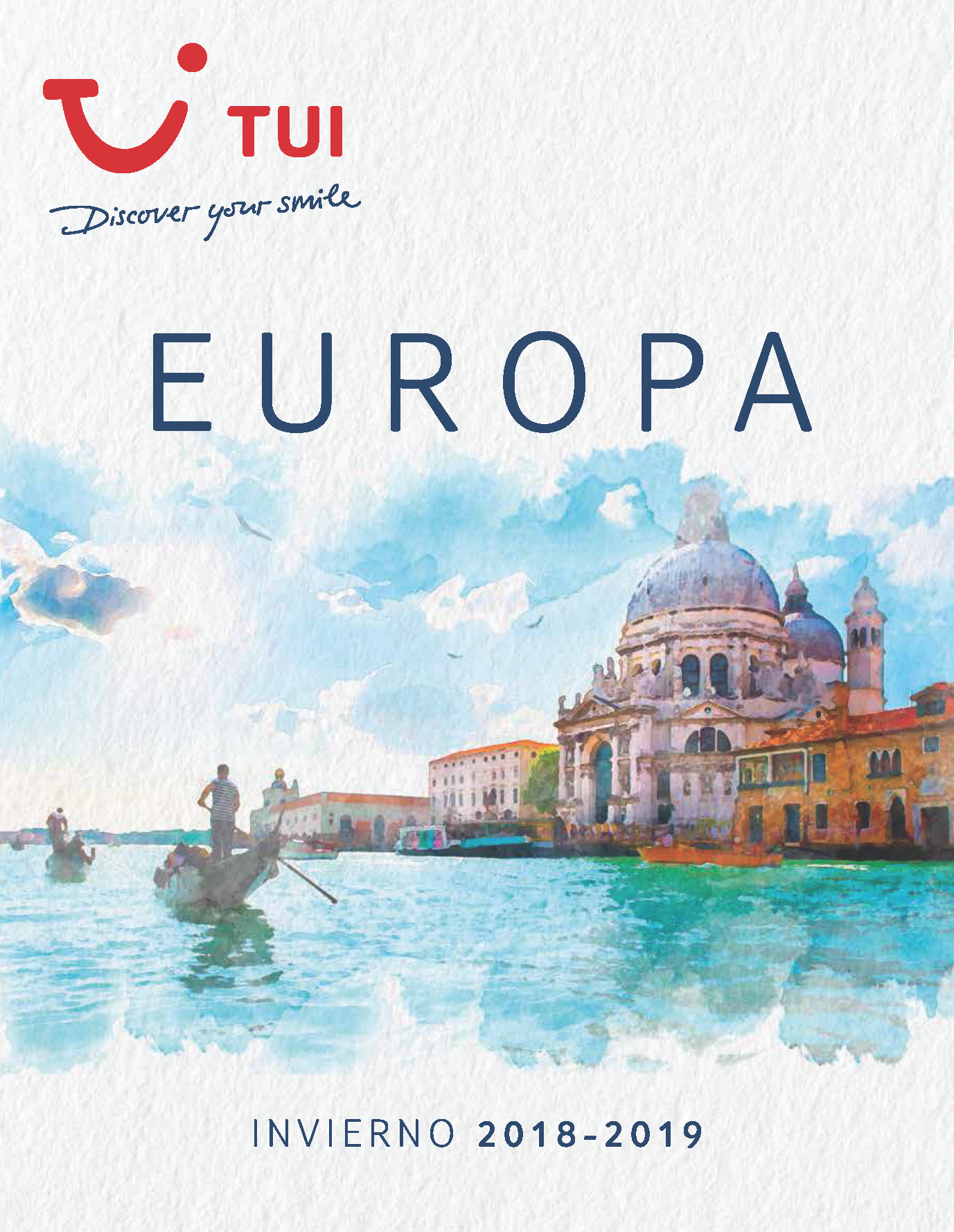 Catalogo TUI Ambassador Tours Europa Invierno 2018-2019