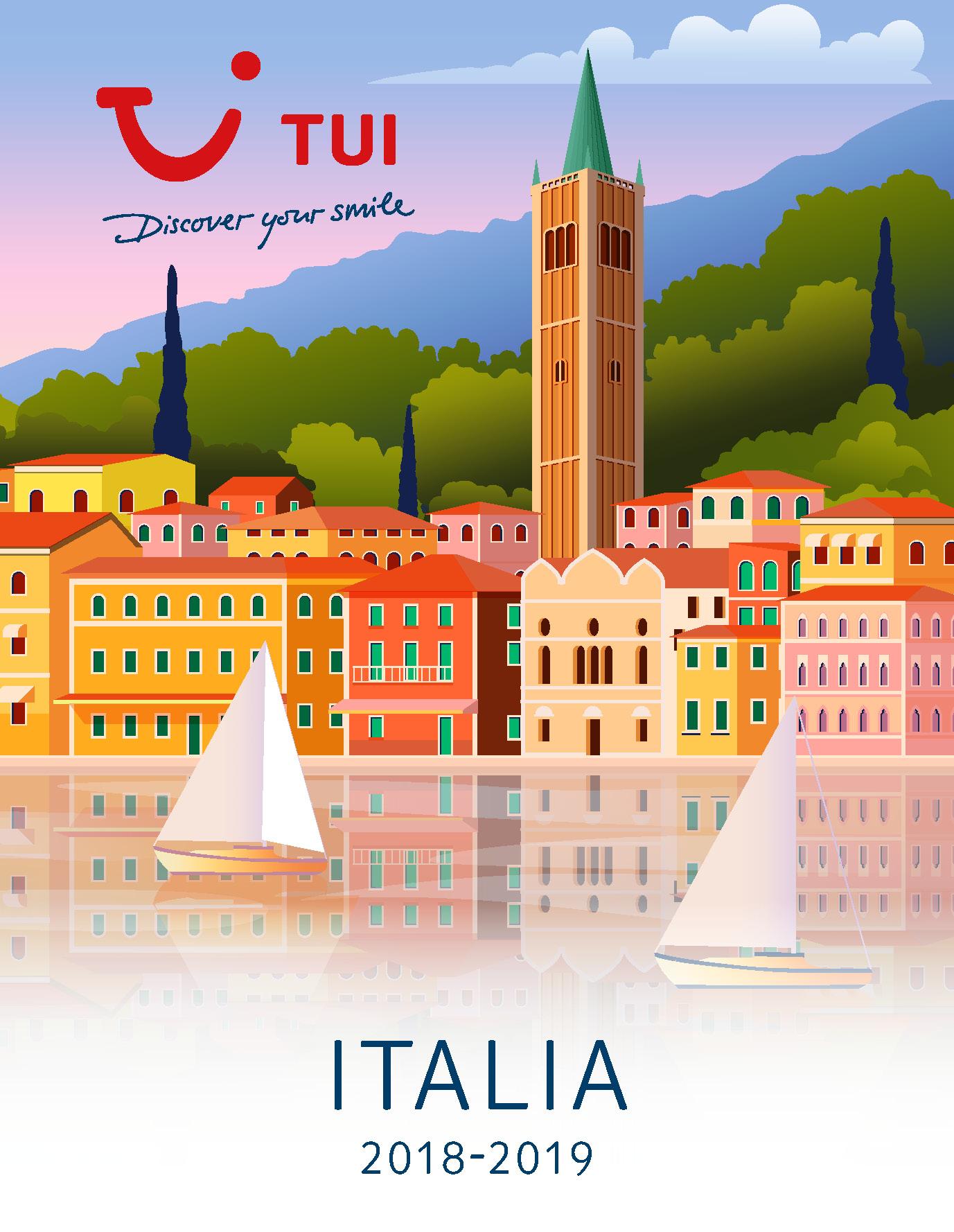 Catalogo TUI Ambassador Tours Italia 2018-2019