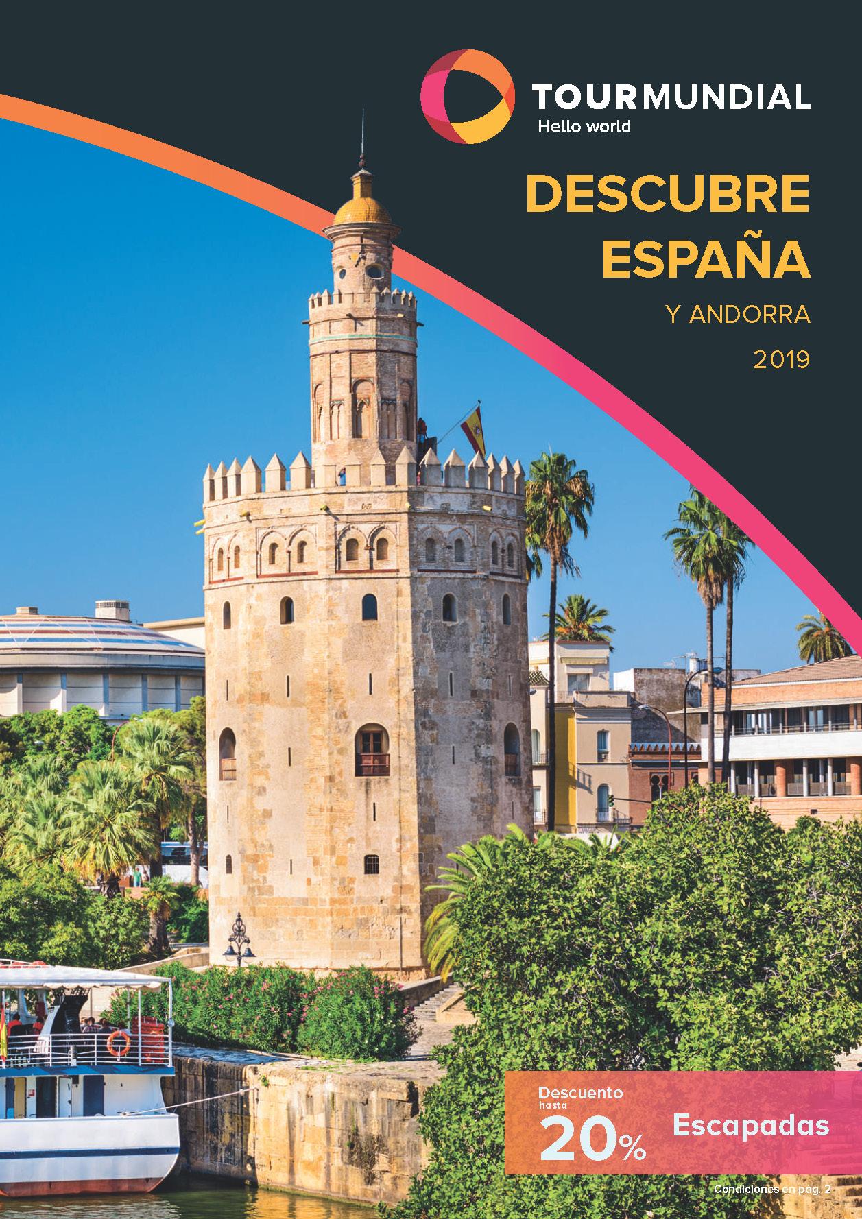 Catalogo Tourmundial Descubre España y Andorra 2019