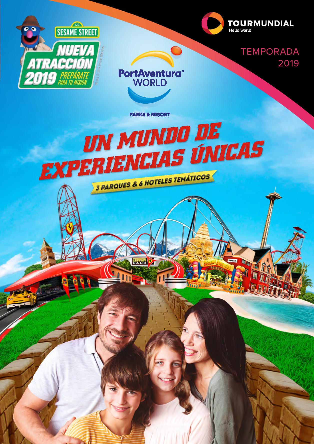 Catalogo Tourmundial Port Aventura World 2019