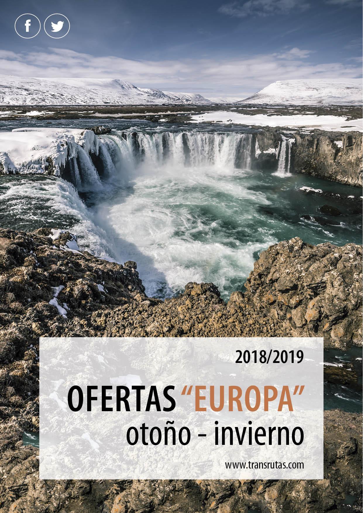 Catalogo Transrutas Ofertas Otono-Invierno 2018-2019