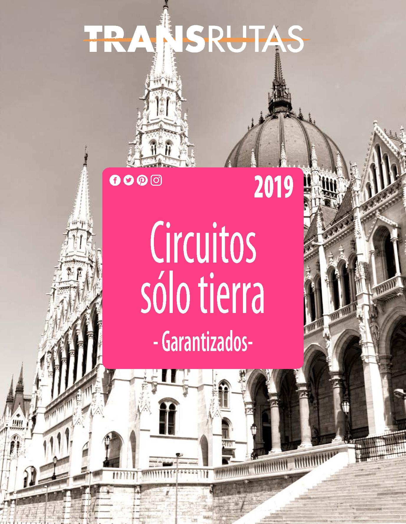 Catalogo Transrutas circuitos Solo Tierra 2019