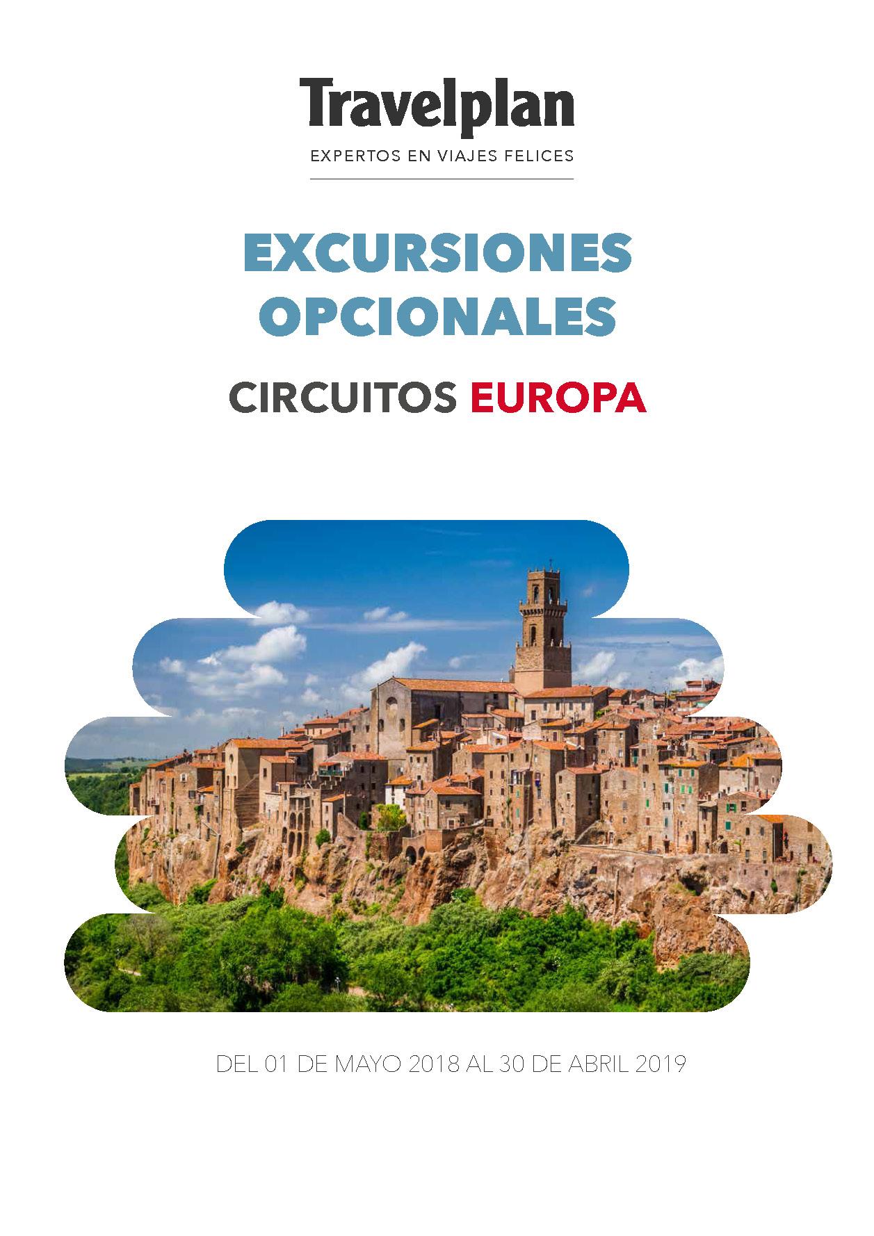 Catalogo Travelplan Excursiones Opcionales en Europa