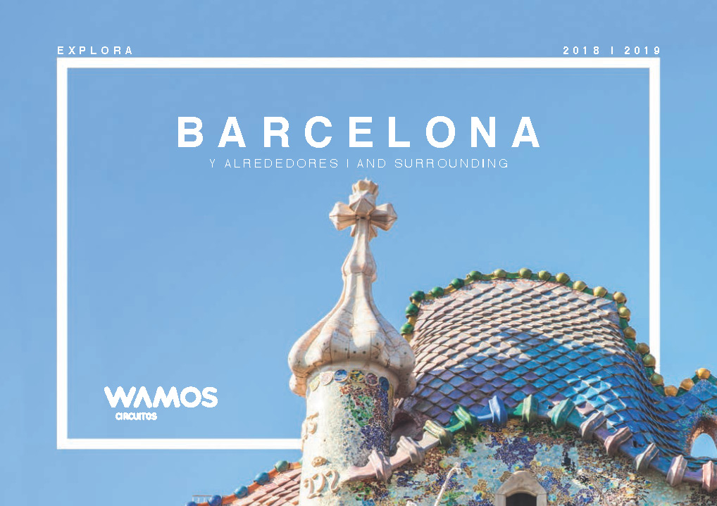 Catalogo Wamos Circuitos City-Tours Barcelona 2018-2019