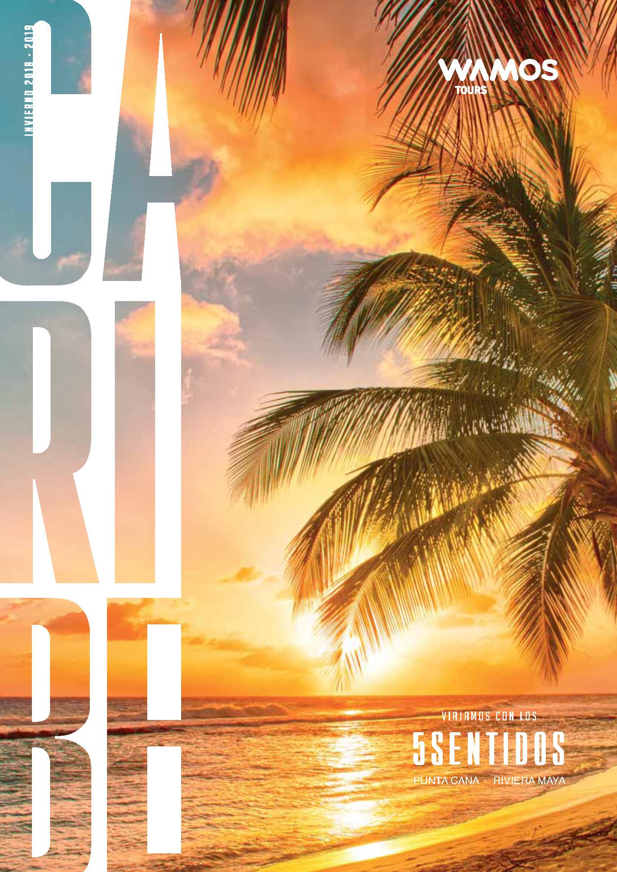 Catalogo Wamos Tours Caribe Invierno 2018-2019