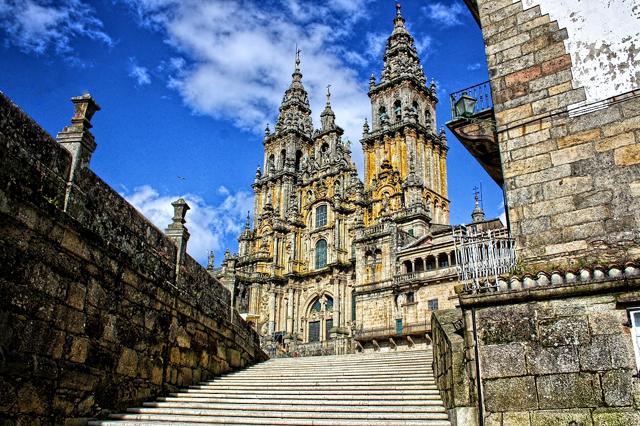 Catedral de Santiago de Compostela. Galicia.