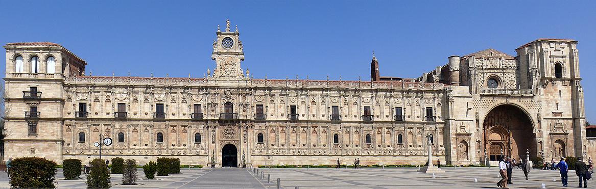 Convento de San Marcos en Leon 1167x371