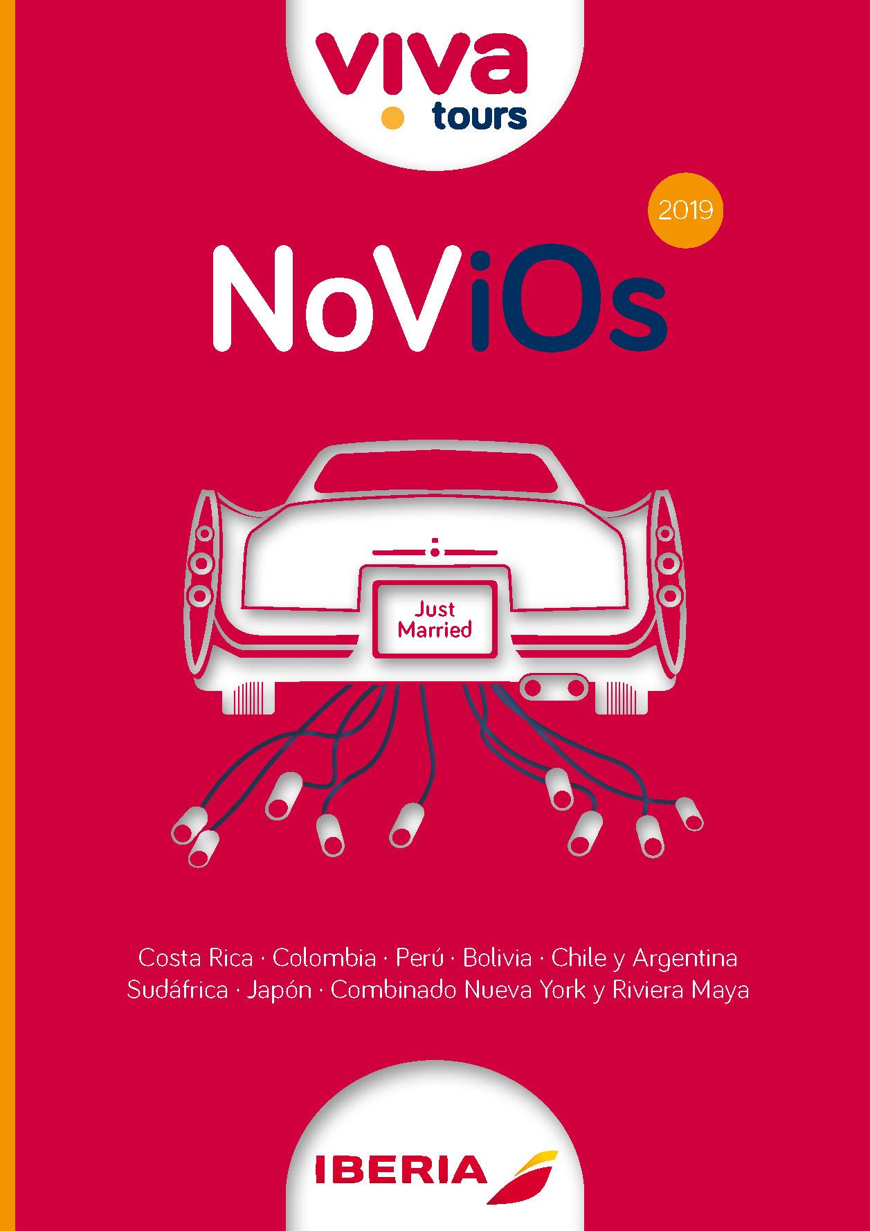 Cuadriptico Viva Tours Novios 2019