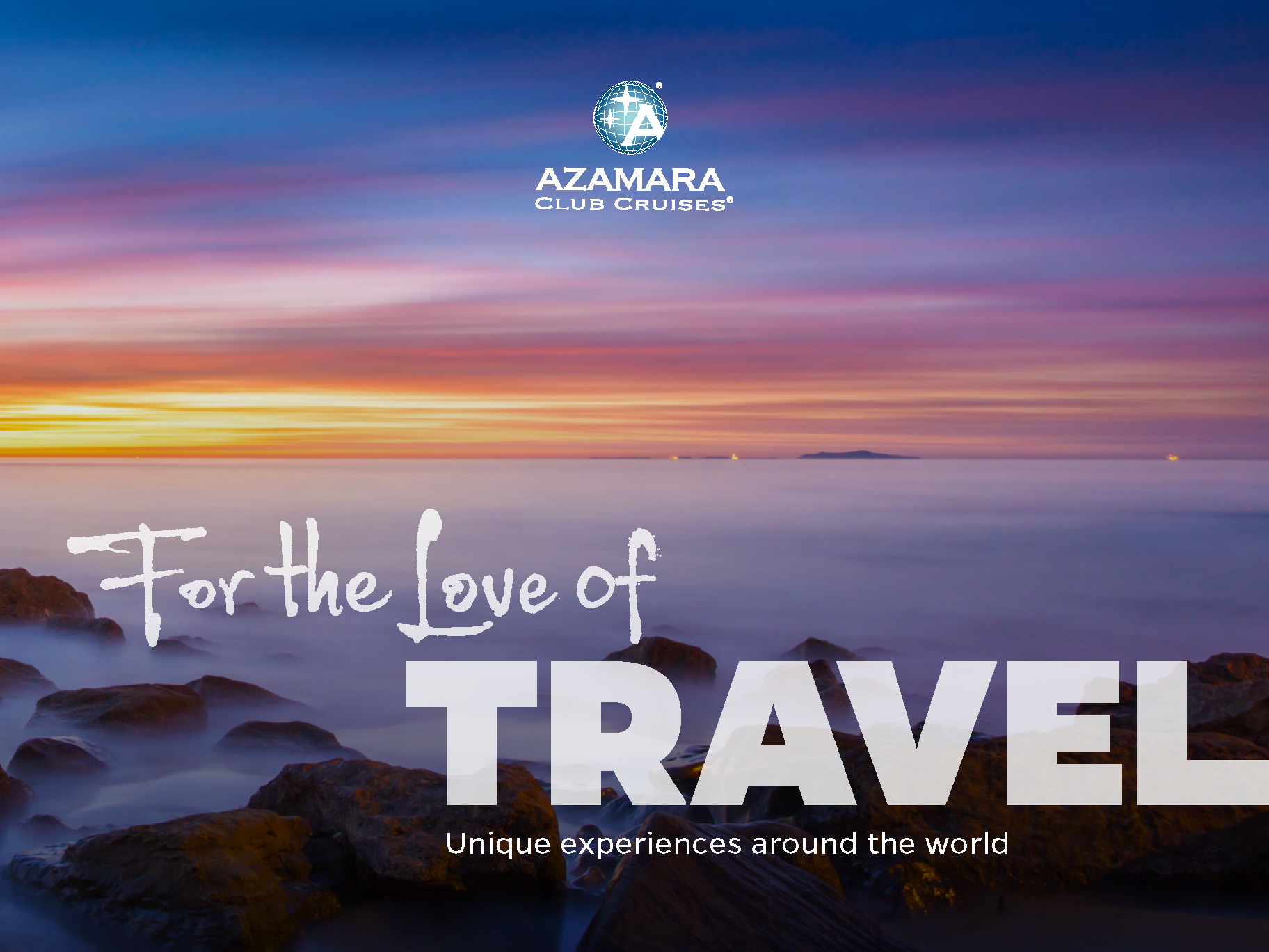 Cubierta Catalogo Azamara Club Cruises 2018