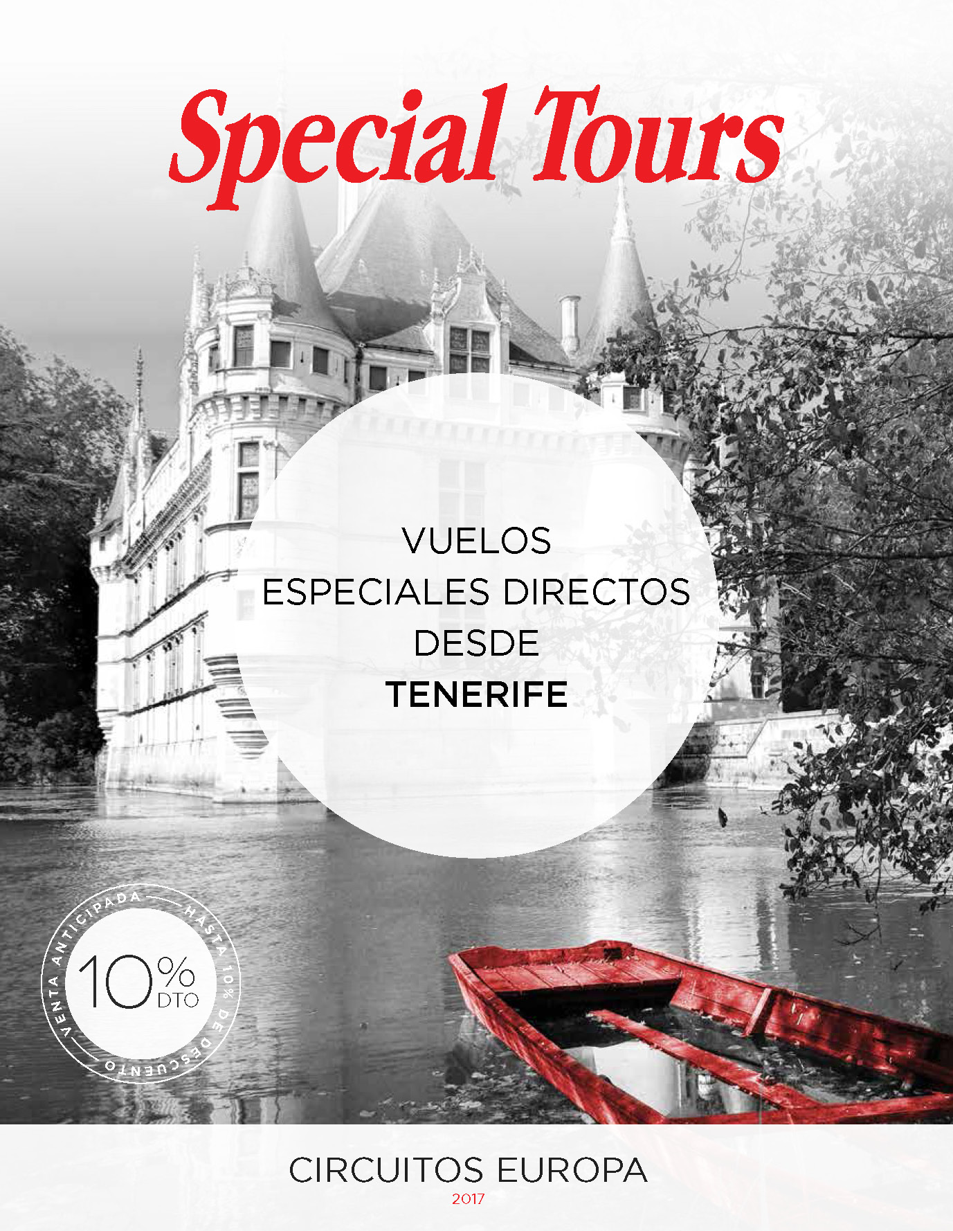 Folleto Special Tours Verano 2017 salidas vuelo directo desde Tenerife