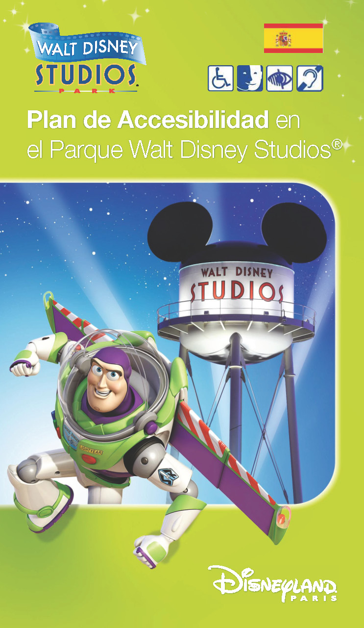 Guia Touring Club de accesibilidad en el Parque Walt Disney Studios