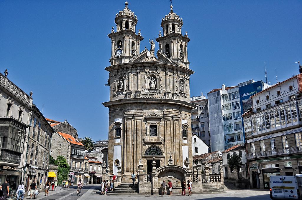 Iglesia de la Virgen Peregrina Pontevedra
