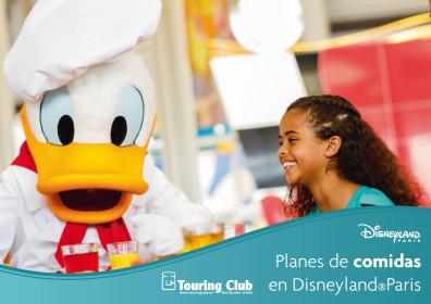Planes de comidas en Disneyland París