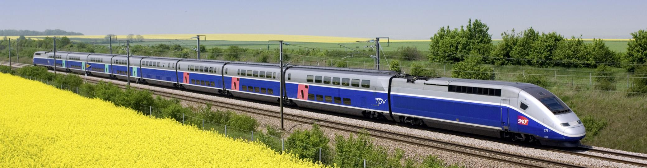 Trenes de alta velocidad de Europa