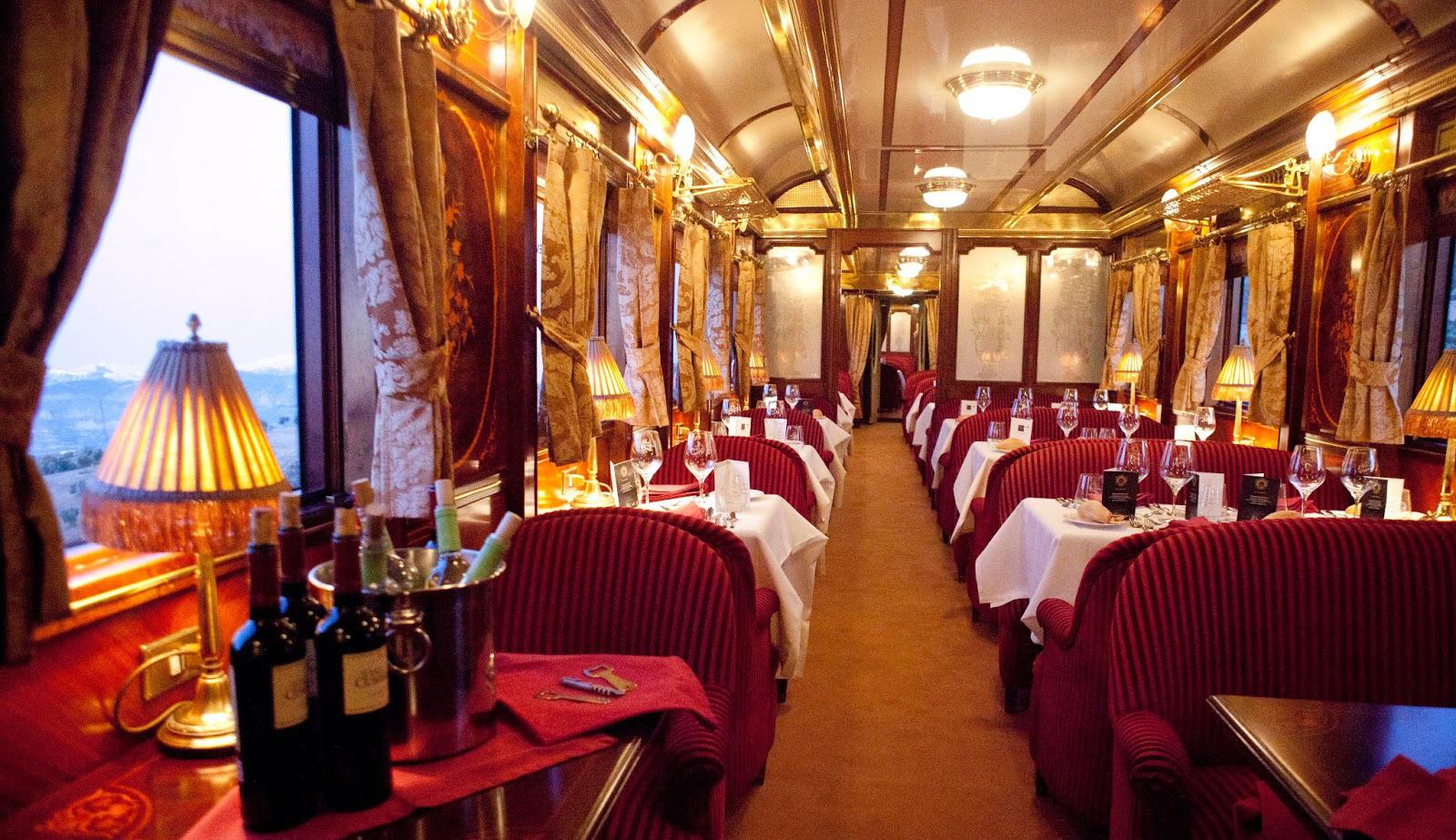 Circuitos en tren de lujo. Tren Al Andalus 1600x923.