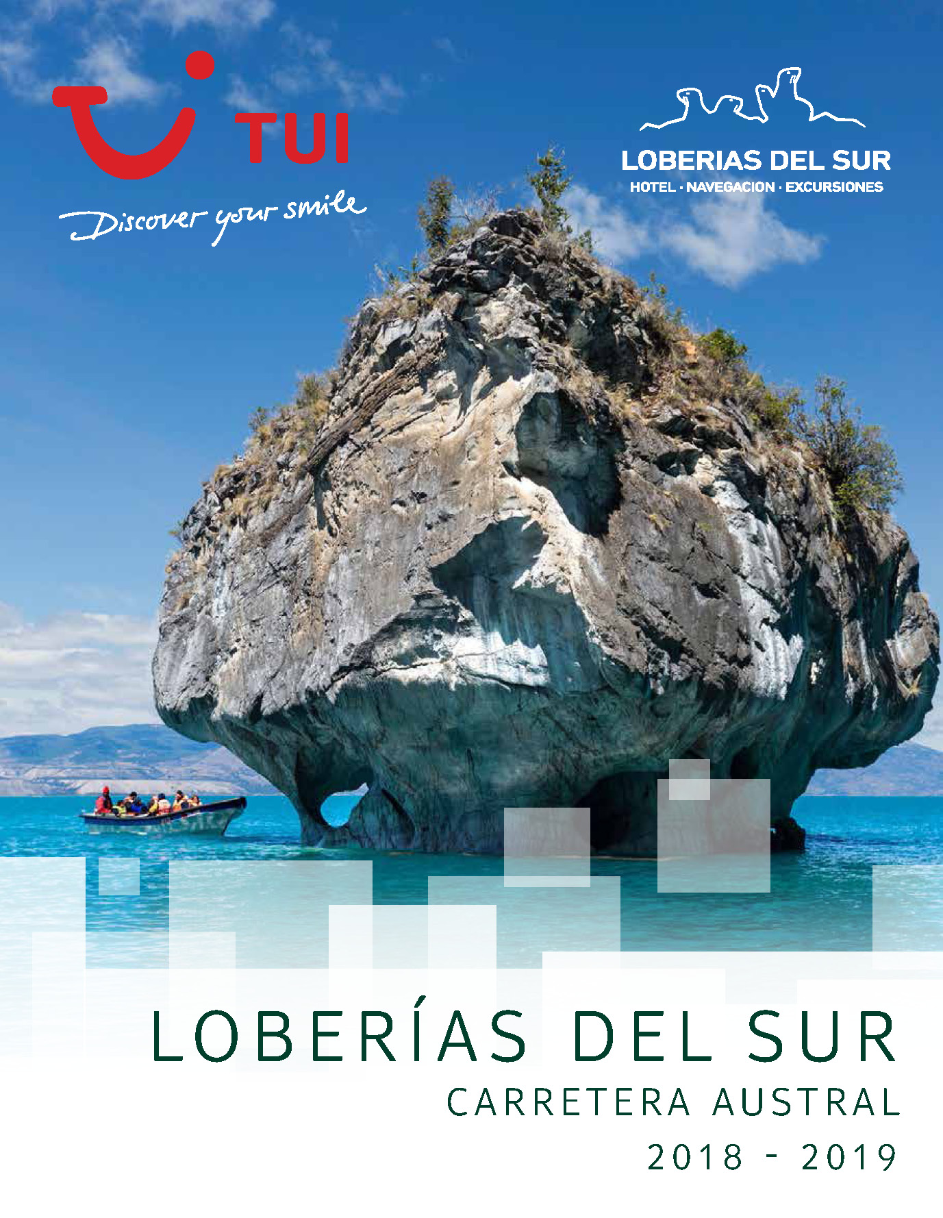 Triptico TUI Ambassador Tours Loberias del Sur 2018-2019