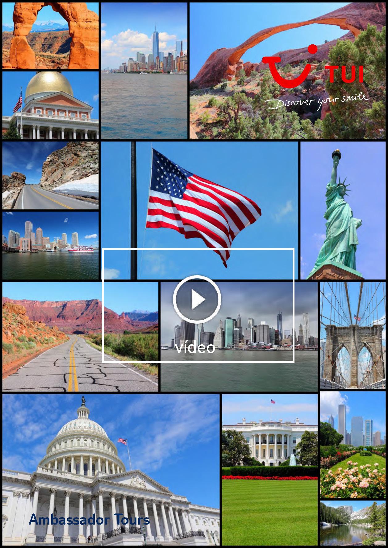 Video TUI EEUU 18 Costa a Costa