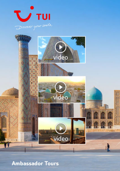 Video TUI Uzbekistan 1 Samarkanda