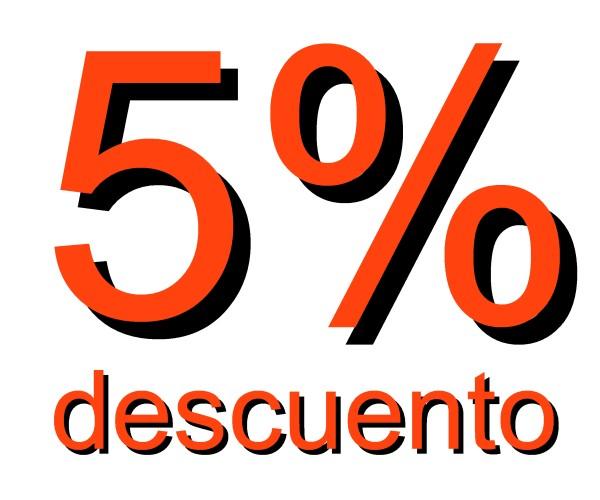 5 % descuento v3